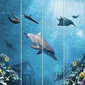 Панель ПВХ, Кронапласт  0,25*2,7м, подводный мир – купить в Кемерово: цена, описание, фото. Интернет-магазин - Склад Ремонта